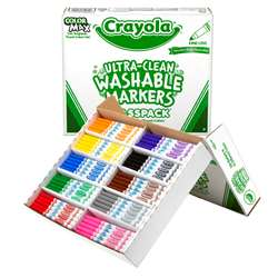 Crayola Washable Fine Line Class Pk 10 Assorted Colors By Crayola