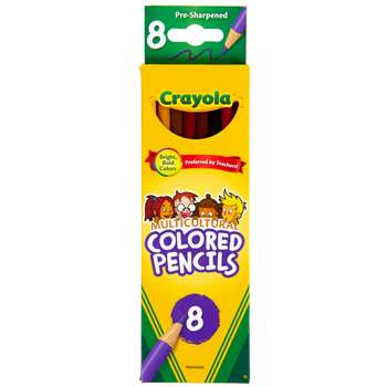 Crayola Multicultural Colored Pencils By Crayola