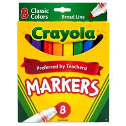 Original Coloring Markers 8 Color By Crayola