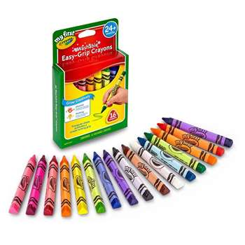 My First Crayola 16Ct Triangular Crayons By Crayola
