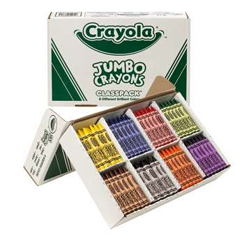 Crayons So Big Class Pack 200Ct By Crayola