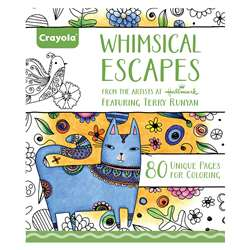Coloring Book Whimsical Escapes, BIN992021