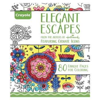 Coloring Book Elegant Escapes, BIN992023