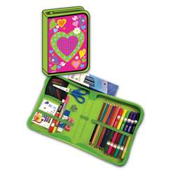 "Heart Designed All "" One School Supplies Carrying, BMB26011669"
