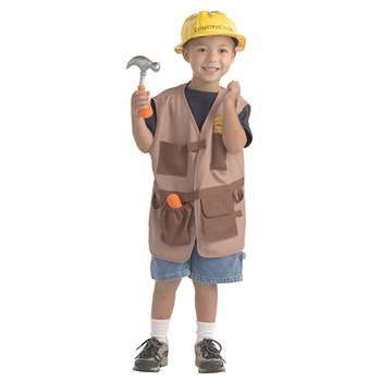 Dramatic Dress Ups Community Helper Costumes Construction Worker By Brand New World