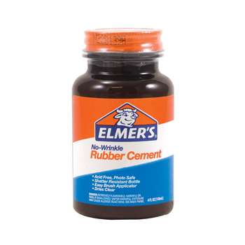 Elmers Rubber Cement 4 Oz By Elmers - Borden