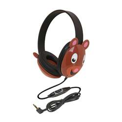 Listening First Animal-Themed Stereo Headphones Bear By Califone International