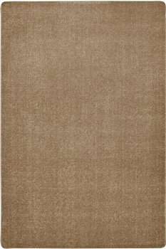 Mt St Helens Solids Sahara Rectangle 6'x9' Carpet, Rugs For Kids