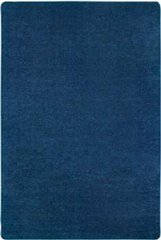 Mt St Helens Solids Blueberry Rectangle 6'x9' Carpet, Rugs For Kids