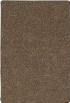 Mt St Helens Solids Mocha Rectangle 6'x9' Carpet, Rugs For Kids