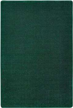 "Mt St Helens Solids Emerald Rectangle 8'4""x12' Carpet, Rugs For Kids"