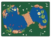 "The Pond Rectangle 8'4""x11'8"" Carpet, Rugs For Kids"