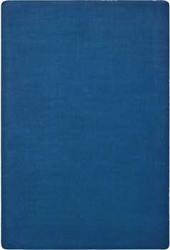 Mt Shasta Solids Blue Skies Rectangle 6'x9' Carpet, Rugs For Kids