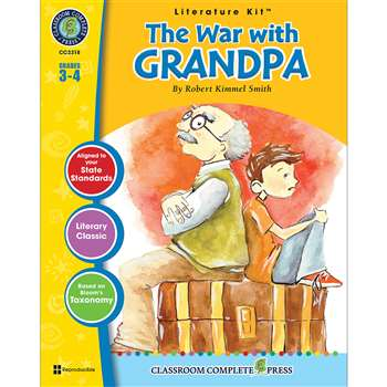 The War With Grandpa Robert Kimmel Smith Lit Kit G, CCP2318