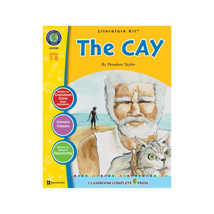 The Cay Theodore Taylor Lit Kit Gr 7-8, CCP2709