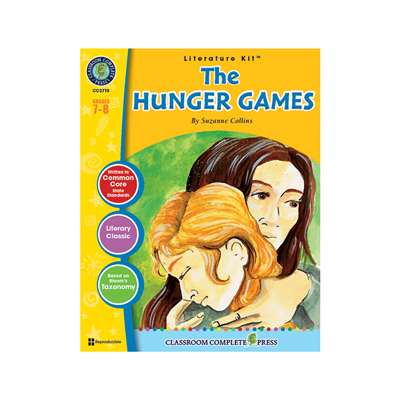 The Hunger Games Suzanne Collins Lit Kit Gr 7-8, CCP2710