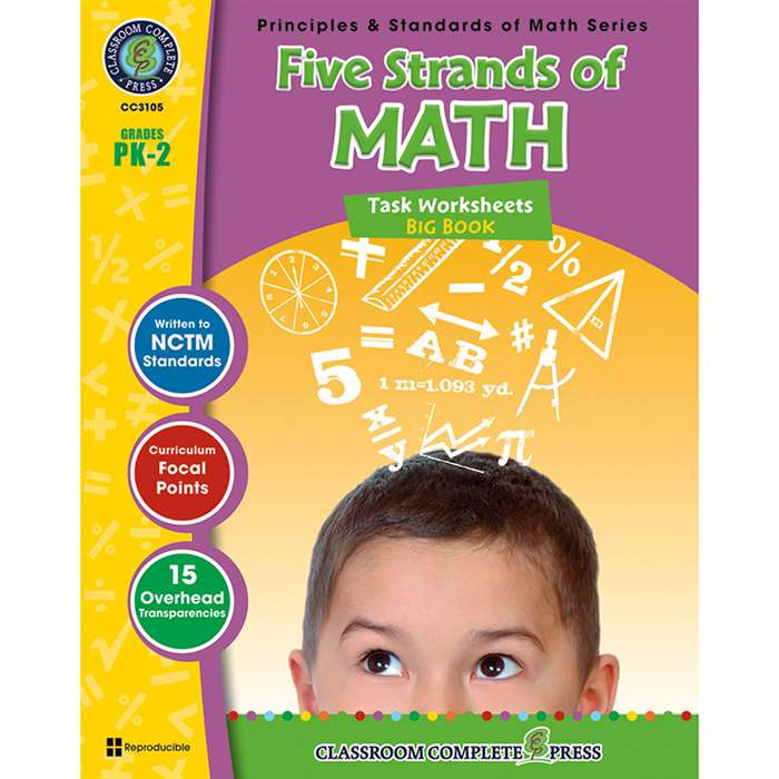 Five Strands Of Math Big Book Gr Pk-2 Principles & Standards Math By Classroom Complete