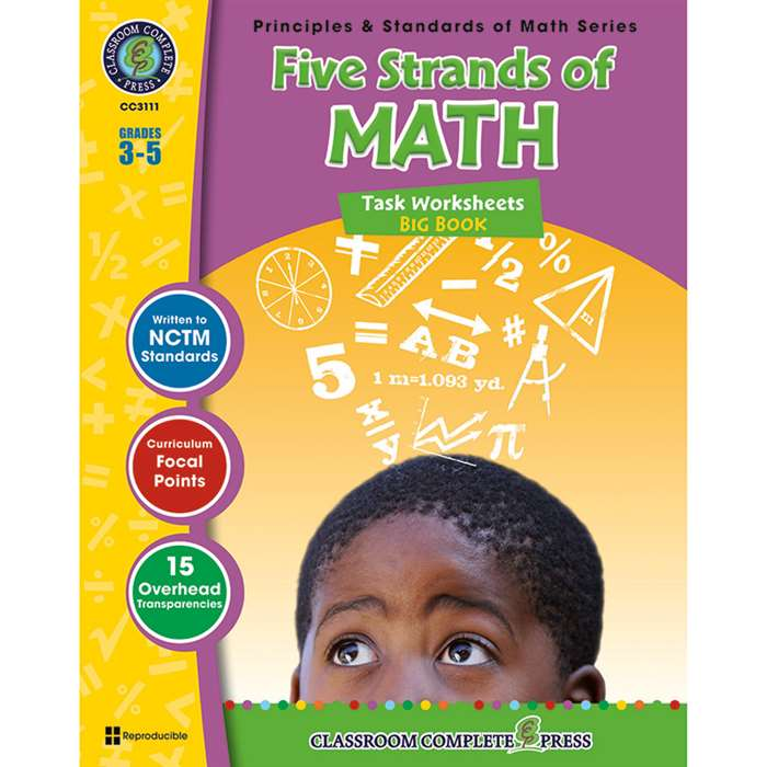 Five Strands Of Math Big Book Gr 3-5 Principles & Standards Of Math By Classroom Complete