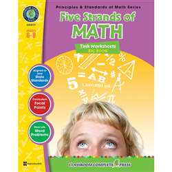 Five Strands Of Math Big Book Gr 6-8 Principles & Standards Of Math By Classroom Complete