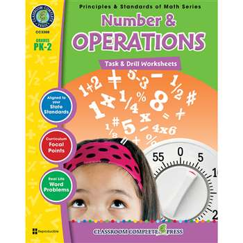 Gr Pk-2 Math Task & Drill Number & Operations, CCP3300