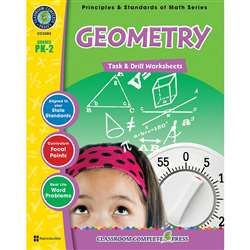 Gr Pk-2 Math Task & Drill Geometry, CCP3302