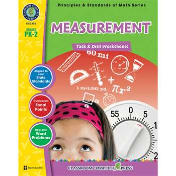Gr Pk-2 Math Task & Drill Measureme, CCP3303