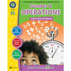 Gr 3-5 Math Task & Drill Number & Operations, CCP3306