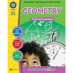 Gr 3-5 Math Task & Drill Geometry, CCP3308