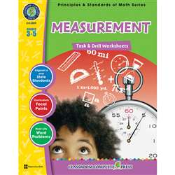 Gr 3-5 Math Task & Drill Measuremen, CCP3309