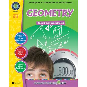 Gr 6-8 Math Task & Drill Geometry, CCP3314