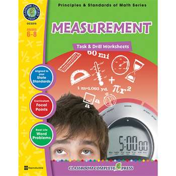 Gr 6-8 Math Task & Drill Measuremen, CCP3315
