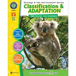 Ecology & The Environment Series Classification & Adaptation By Classroom Complete