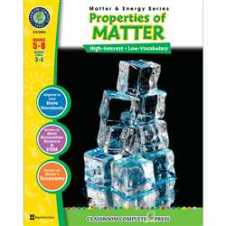 Matter & Energy Series Properties Of Matter By Classroom Complete