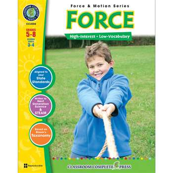 Force & Motion Series Force By Classroom Complete