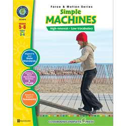 Force & Motion Series Simple Machines By Classroom Complete