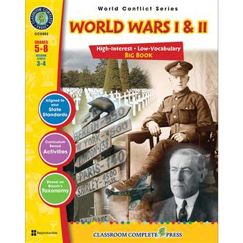 World Conflict Series World Wars I And Ii Big Book By Classroom Complete