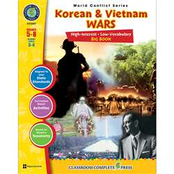 Korean & Vietnam Wars Big Book World Conflict Series By Classroom Complete