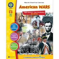American Wars Big Book World Conflict Series By Classroom Complete