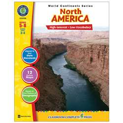 World Continents Series North America By Classroom Complete