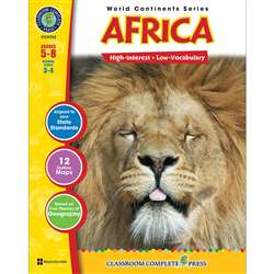 World Continents Series Africa By Classroom Complete