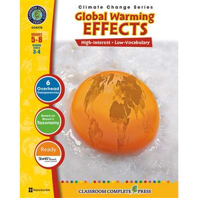 Global Warming Effects By Classroom Complete