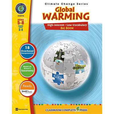 Global Warming Big Book By Classroom Complete