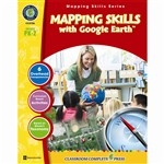 Mapping Skills With Google Earth Gr Pk-2, CCP5786