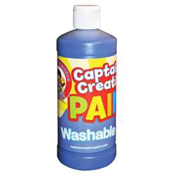 Captain Creative Blue 16Oz Washable Paint By Certified Color