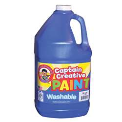 Captain Creative Blue Gallon Washable Paint By Certified Color