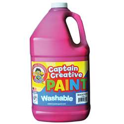 Captain Creative Magenta Gallon Washable Paint By Certified Color
