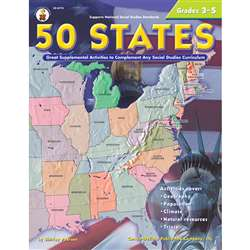 50 States 176 Pages Gr 3-5 By Carson Dellosa