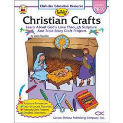 Easy Christian Crafts Gr Pk-K By Carson Dellosa
