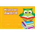 Wise Owl Awards By Carson Dellosa