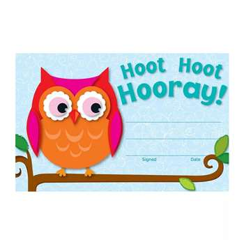 Hoot Hoot Hooray Awards By Carson Dellosa